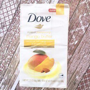 Dove Purely Mango Almond Butter Beauty Bars 6 Bar